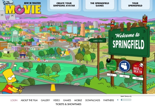 The Simpsons Wins Best Movie Website At The Webbys Filmdetail