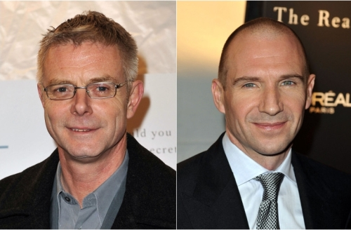 Stephen Daldry and Ralph Fiennes