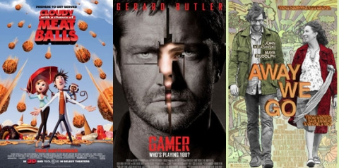 UK Cinema Releases 18-09-09