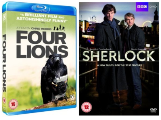 UK DVD and Blu-ray Picks 30-08-10 / Four Lions and Sherlock
