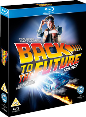 Back to the Future on Blu-ray cover