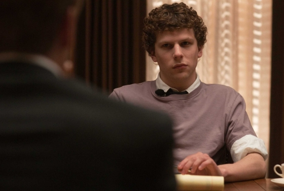 It begins with Harvard student Mark Zuckerberg (Jesse Eisenberg) getting