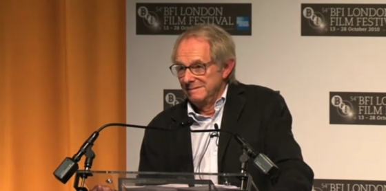 Ken Loach Keynote at the London Film Festival