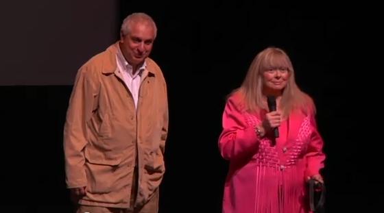 Errol Morris and Joyce McKinney at DOC NYC 2010