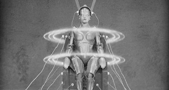 The Maria robot in Metropolis