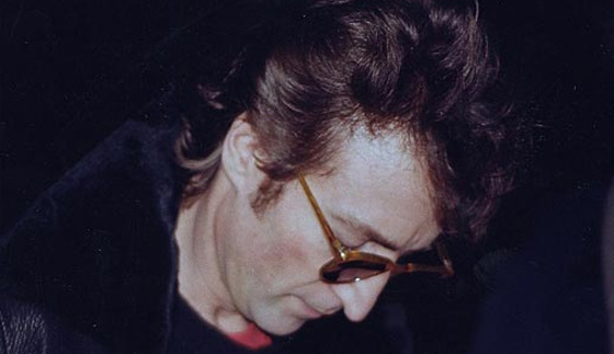 John Lennon on December 8th 1980