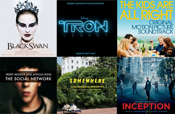 The Best Soundtracks of 2010