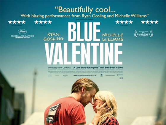 Blue Valentine UK poster