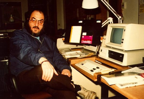 Stanely Kubrick and his IBM XT