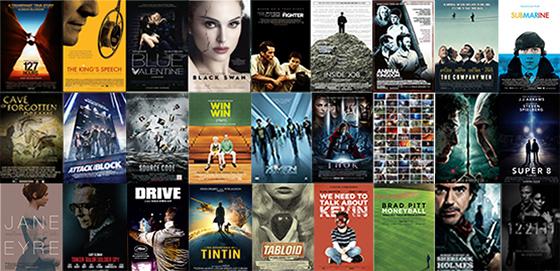 UK Cinema Releases 2011