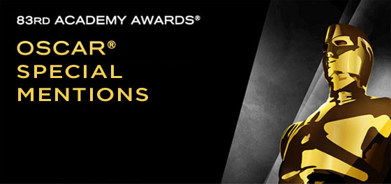 Oscar Special Mentions