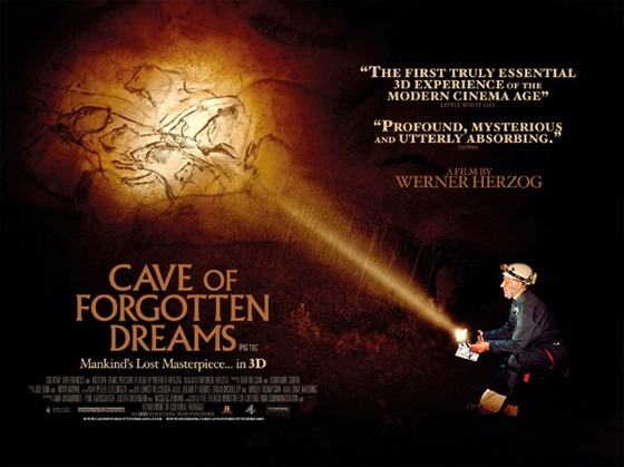 Cave of Forgotten Dreams UK poster