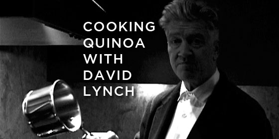 David Lynch Cooking Video