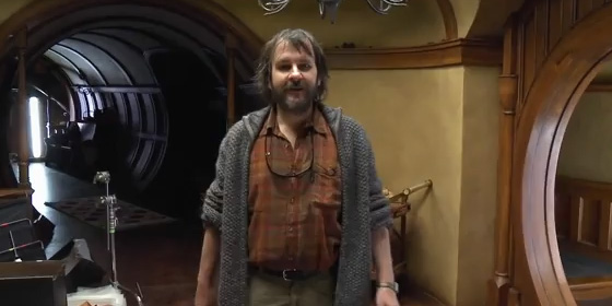Peter Jackson Video Diary for The Hobbit