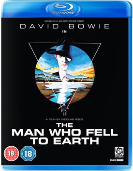 The Man Who Fell To Earth Blu-ray Cover 2
