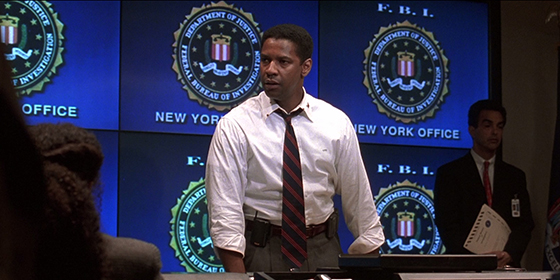 Denzel Washington in The Siege