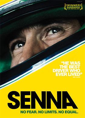 Senna UK poster