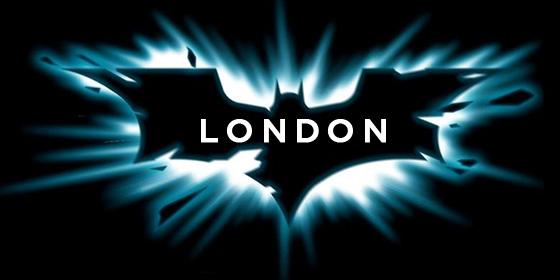 The Dark Knight Rises in London