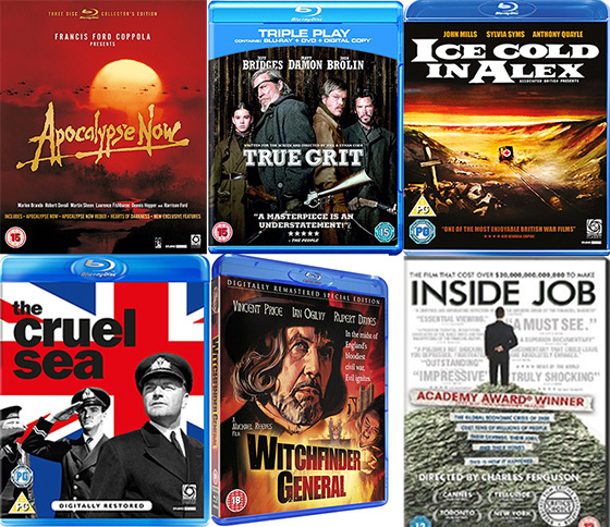 UK DVD and Blu-ray 13-06-11