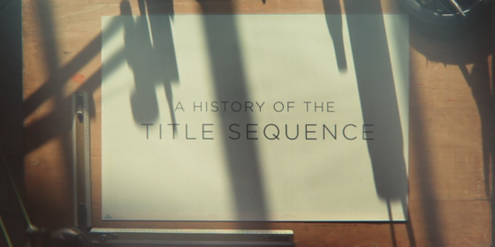 A History of the Title Sequence by Jurjen Versteeg
