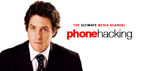 Hugh Grant on phone hacking