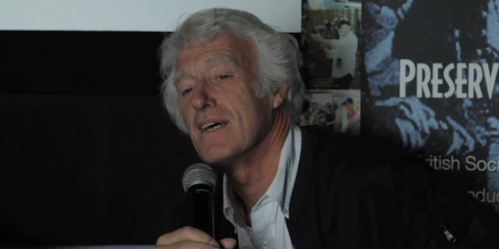 Roger Deakins talks to the BSC