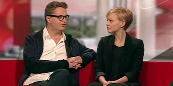 Nicolas Winding Refn and Carey Mulligan on BBC Breakfast