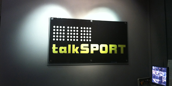 TalkSPORT on August 29th 2011