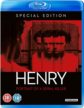 Henry Portrait of a Serial Killer - DVD Blu-ray cover