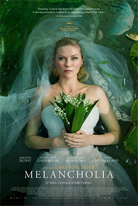 Melancholia one sheet poster