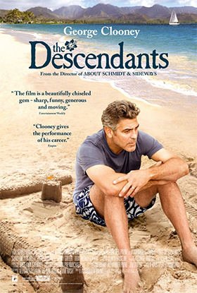 The Descendants UK poster