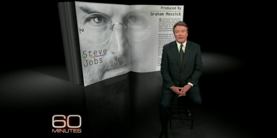 Walter Isaacson talks Steve Jobs on 60 Mins