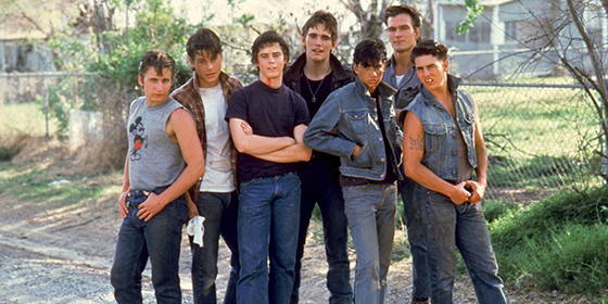 essays on the outsiders characters