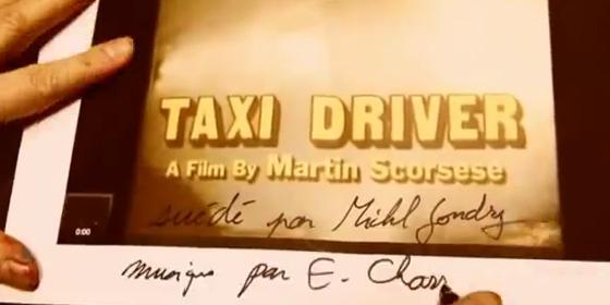 Michael Gondry's Taxi Driver
