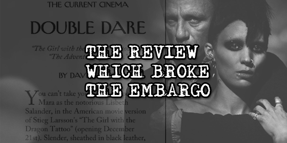 The Review Which Broke The Embargo