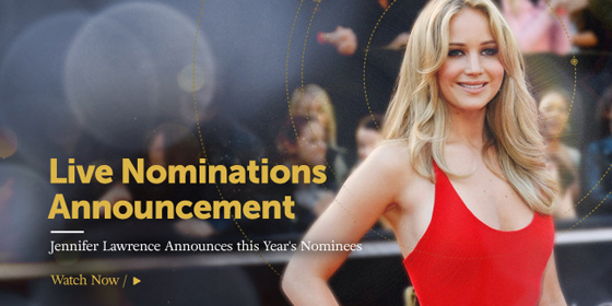 Oscar Nominations Announcement