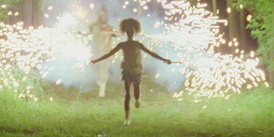 A still from Benh Zeitlin's Beasts of the Southern Wild