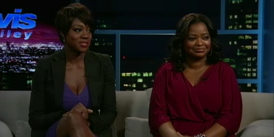 Viola Davis and Octavia Spencer on the Tavis Smiley show