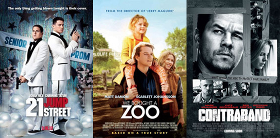 UK Cinema Releases 16-03-12