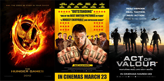 UK Cinema Releases 23-03-12
