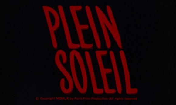 Plein Soleil Title Card