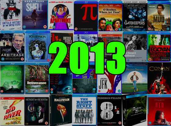 The Best DVD and Blu-rays of 2013