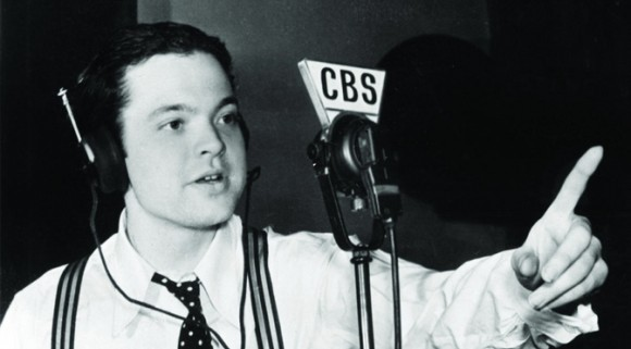 Orson Welles on the radio