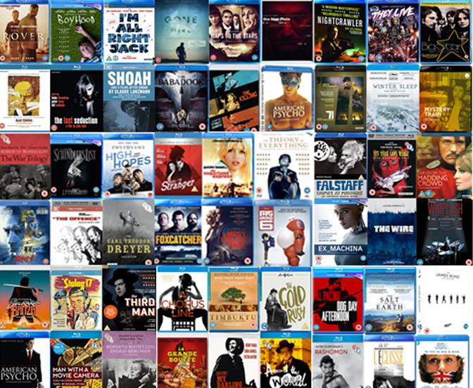 The Best DVD & Blu-rays of 2015